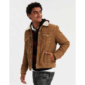 アメリカンイーグル ジャケット アウター メンズ  大きいサイズ AE Active Varsity Down Jacket   xxl xxxl trendcruising