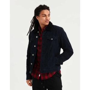 アメリカンイーグル ダウンジャケット コート  メンズ AE Puffer Jacket ブルー 大きいサイズ xl xxl xxxl trendcruising