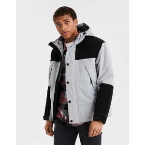 アメリカンイーグル ジャケット アウター メンズ 大きいサイズ AEO Sherpa Lined Flannel Shirt Jacket ネイビー  アバクロ ハーレー サーフ コート 冬 trendcruising