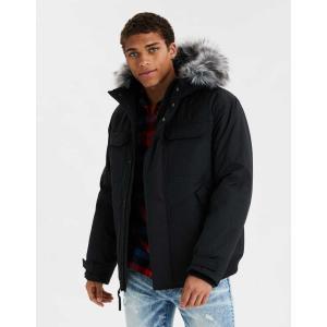 アメリカンイーグル ジャケット アウター メンズ 大きいサイズ AEO Sherpa Lined Flannel Shirt Jacket マルチ  アバクロ ホリスター ハーレー サーフ trendcruising