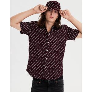 アメリカンイーグル シャツ  メンズ 長袖 ブルーパス|trendcruising