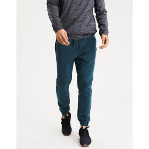 アメリカンイーグル ジョガーパンツ メンズ ブラック スウェットパンツ 大きいサイズ xxxl AE Fleece Jogger ターコイズ|trendcruising