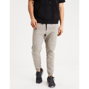 アメリカンイーグル ジョガーパンツ メンズ スウェットパンツ 大きいサイズ xxxl AE Fleece Jogger オートミール|trendcruising