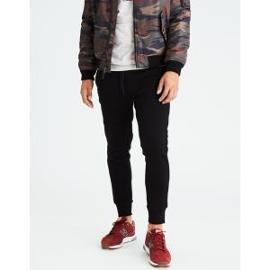 アメリカンイーグル ジョガーパンツ メンズ スウェットパンツ 大きいサイズ xxxl AE Fleece Jogger ブラック|trendcruising