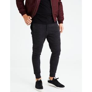 アメリカンイーグル ジョガーパンツ メンズ スウェットパンツ 大きいサイズ xxxl AE Fleece Jogger グレー|trendcruising