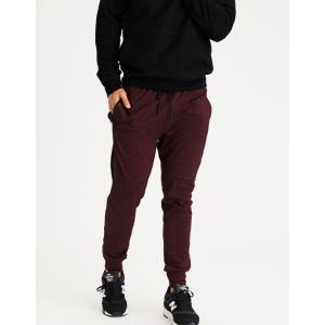 アメリカンイーグル ジョガーパンツ メンズ スウェットパンツ 大きいサイズ xxxl AE Lightweight Fleece Jogger バーガンディ|trendcruising
