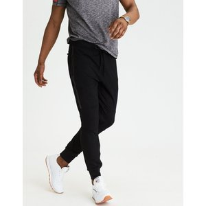 アメリカンイーグル ジョガーパンツ メンズ スウェットパンツ 大きいサイズ xxxl AE Lightweight Fleece Jogger ブラック|trendcruising