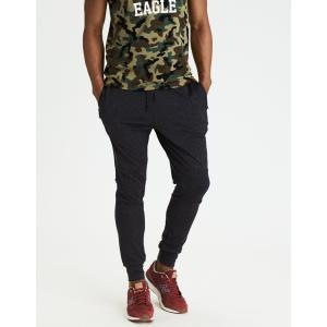 アメリカンイーグル ジョガーパンツ メンズ スウェットパンツ 大きいサイズ xxxl AE Lightweight Fleece Jogger チャコールグレー|trendcruising