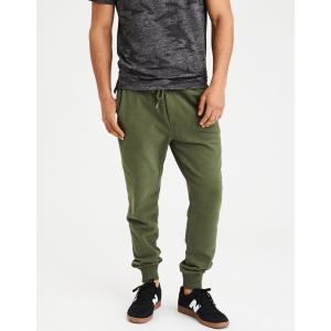 アメリカンイーグル ジョガーパンツ メンズ スウェットパンツ 大きいサイズ xxxl AE Classic Fleece Jogger オリーブ|trendcruising
