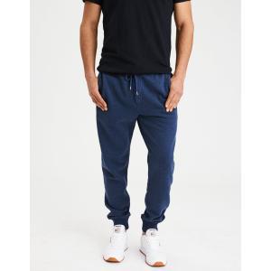 アメリカンイーグル ジョガーパンツ メンズ スウェットパンツ 大きいサイズ xxxl AE Classic Fleece Jogger ネイビー|trendcruising
