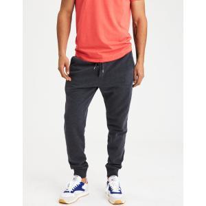 アメリカンイーグル ジョガーパンツ メンズ スウェットパンツ 大きいサイズ xxxl AE Classic Fleece Jogger チャコールグレー|trendcruising