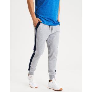 アメリカンイーグル ジョガーパンツ メンズ スウェットパンツ 大きいサイズ xxxl AE Fleece Track Pant グレー|trendcruising