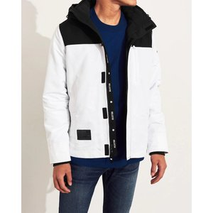 ホリスター ジャケット メンズ アウター コート グレー 大きいサイズ xxl|trendcruising