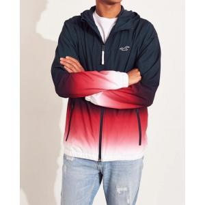 ホリスター ジャケット メンズ アウター コート ウィンドブレイカー ネイビー 大きいサイズ xl xxl おしゃれ 人気 アバクロ trendcruising
