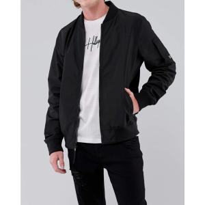 ホリスター ジャケット アウター メンズ ボンバージャケット ブラック アバクロ アメリカンイーグル 大きいサイズ おしゃれ 人気 ニューバランス キャンプ|trendcruising