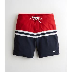 ホリスター スイムトランクス 水着 ショートパンツ メンズ Hollister Guard Fit Swim Trunks ネイビー アバクロ アメリカンイーグル パンツ trendcruising