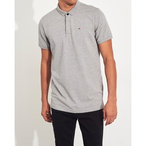 ホリスター ポロシャツ メンズ 半袖  ブルー アバクロ 大きいサイズ|trendcruising