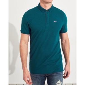ホリスター ポロシャツ メンズ 半袖  バーガンディー アバクロ 大きいサイズ|trendcruising