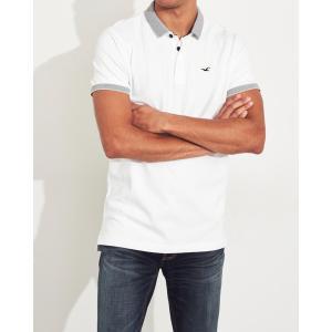 ホリスター ポロシャツ メンズ 半袖  ピンク アバクロ 大きいサイズ|trendcruising