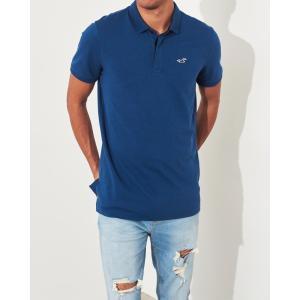ホリスター ポロシャツ メンズ 半袖  ブラック フローラルプリント 大きいサイズ|trendcruising