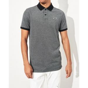 ホリスター ポロシャツ メンズ 半袖  ホワイト アバクロ 大きいサイズ|trendcruising