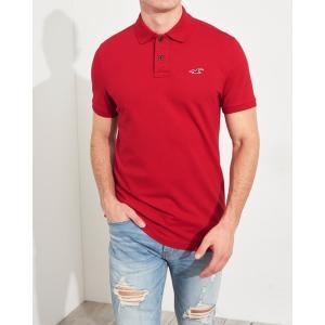 ホリスター ポロシャツ メンズ 半袖  マッスルフィット ブラック アバクロ 大きいサイズ|trendcruising