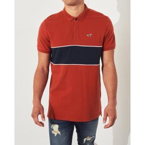 ホリスター ポロシャツ メンズ 半袖  マッスルフィット グレー アバクロ 大きいサイズ|trendcruising