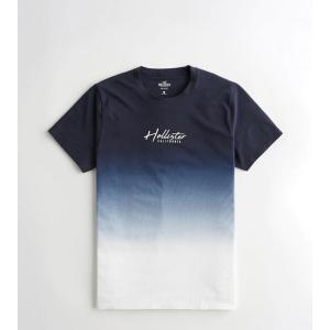 ホリスター  Tシャツ メンズ  長袖 ロンT ネイビー...