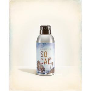 ホリスター 香水 ホリスター ソーカル ボディスプレー 143ml SO CAL アバクロ 送料無料|trendcruising