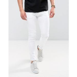 エイソス スーパースキニージーンズ メンズ デニム ASOS Extreme Super Skinny Jeans In Light Wash Vintage おしゃれ バイカー|trendcruising