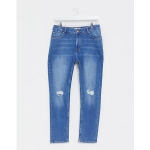 エイソスセレクト  ジーンズ  メンズ デニム ブルー Nudie Jeans Co Lean Dean Jeans Lost Legends Wash|trendcruising
