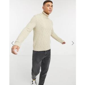エイソス セーター メンズ カーディガン ニット  ASOS Hand-Knitted Open Stitch Jumper In Washed Black おしゃれ xxs xs s m l xl xxl xxxl ナイキ|trendcruising
