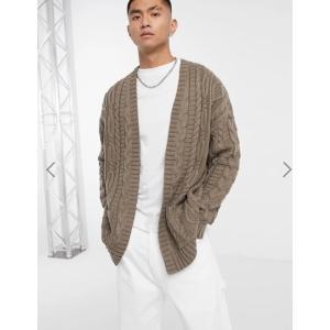 エイソスセレクト セーター メンズ カーディガン ニット グレー Jack & Jones Originals Christmas Knitted Jumper おしゃれ xxs xs s m l xl xxl xxxl trendcruising