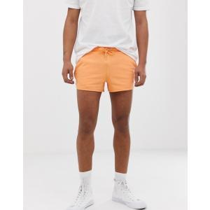 エイソス ショートパンツ メンズ ストーン ショーツ ASOS DESIGN Slim Chino Shorts In Stone|trendcruising