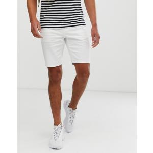 エイソス ショートパンツ メンズ ネイビー ショーツ  ASOS Slim Chino Shorts In Navy|trendcruising