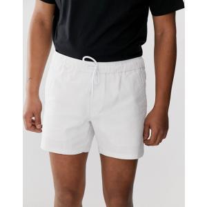 エイソス ショートパンツ メンズ ネイビー ショーツ  ASOS Skater Shorts With Raw Edge In Navy|trendcruising