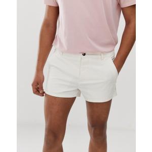 エイソス ショートパンツ メンズ ネイビー ショーツ  ASOS Super Skinny Chino Shorts In Navy|trendcruising