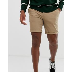 エイソス ショートパンツ メンズ ブラック ネイビー 2パック ASOS 2 Pack Skinny Chino Shorts In Black & Navy Save trendcruising
