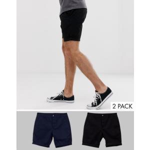 エイソス ショートパンツ メンズ 迷彩 カモ ASOS Chino Shorts With Camo Print|trendcruising
