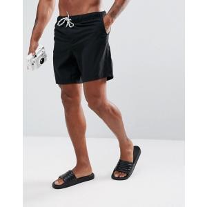 エイソス スイムパンツ ボードショーツ サーフパンツ 水着 メンズ ASOS Swim Hipsters In Pink Velour trendcruising