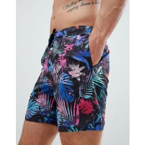 アディダス スイムパンツ ボードショーツ サーフパンツ 水着 メンズ エイソスセレクト adidas Swim Shorts In Black ブラック trendcruising
