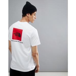エイソスセレクト ノースフェイス Tシャツ メンズ 半袖 ホワイト The North Face Red Box T-Shirt Back Print In White|trendcruising