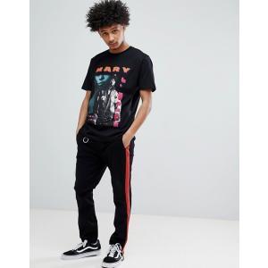 エイソス Tシャツ メンズ半袖 ロングライン クルーネック  ASOS Longline T-Shirt With Crew Neck And Curved Hem ホワイト 人気 おしゃれ|trendcruising