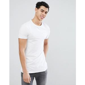 エイソス Tシャツ メンズ半袖 スクープネック ASOS T-Shirt With Scoop Neck ブラック 人気 おしゃれ|trendcruising