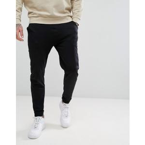 エイソス ジョガーパンツ  メンズ スウェットパンツ ブラック ASOS Skinny Joggers In Lightweight Jersey ニューバランス 大きいサイズ xl xxl xxxll おしゃれ|trendcruising