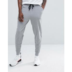 エイソス ジョガーパンツ  メンズ スウェットパンツ グレー ASOS Slim Joggers In Grey Marl ニューバランス 大きいサイズ xl xxl xxxll おしゃれ 人気|trendcruising
