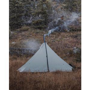 ティピーテント シマロンライト ワンポールテント 4人用  シークアウトサイド テント 軽量 コンパクト モノポールテント Tipi Tent Cimarron Light Seekoutside|trente-trois