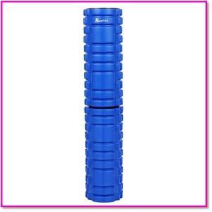 フォームロール2-in-1スポーツマッサージ筋膜リリース腰痛・肩コリ・筋肉痛を改善長さ調整 0148|trepakgogo