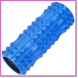 フォームローラーヨガポールトリガーポイント&筋筋膜リリースマッサージ&ストレッチローラー(ブルー) 0149|trepakgogo
