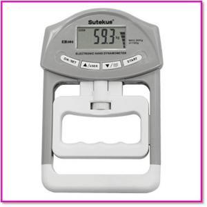 握力体力測定用デジタル握力計  ユーザー登録可能 0212 trepakgogo